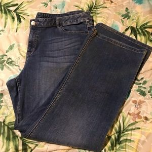 Lane Bryant stretch boot cut jeans